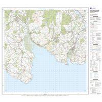 OS Landranger 83 Paper - Newton Stewart & Kirkcudbright sheet