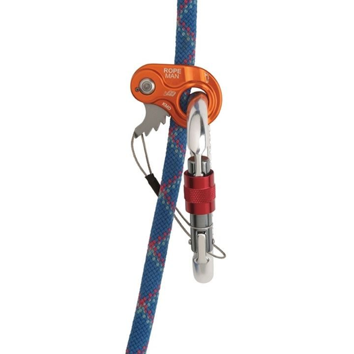 Wild Country Ropeman 1 on rope