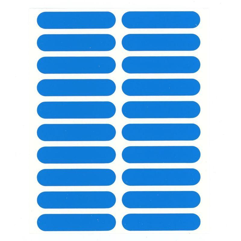 Trango Rack Tags Blue