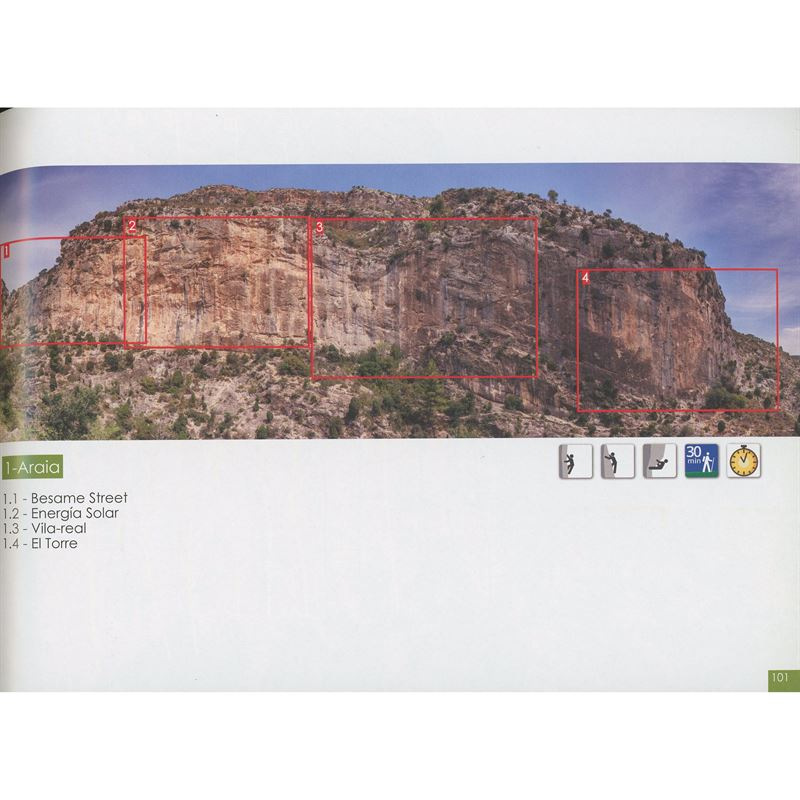 Levante Climbs - North pages