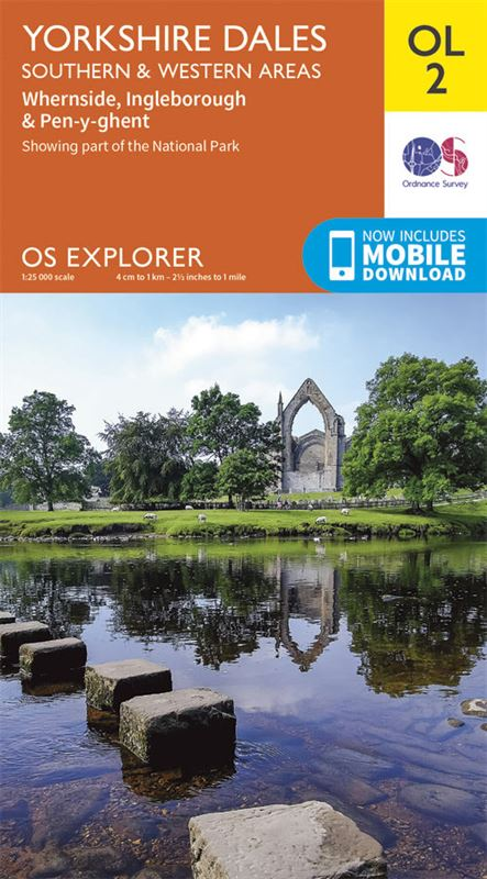 OS OL/Explorer 2 Yorkshire Dales - Southern and Western Areas