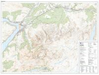 OS Explorer 392 Paper Ben Nevis & Fort William 1:25,000 sheet