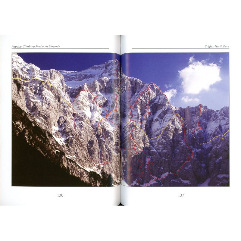 Popular Climbing Routes in Slovenia pages