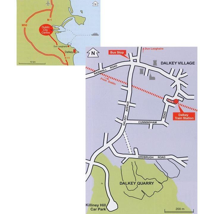 Dalkey Quarry coverage