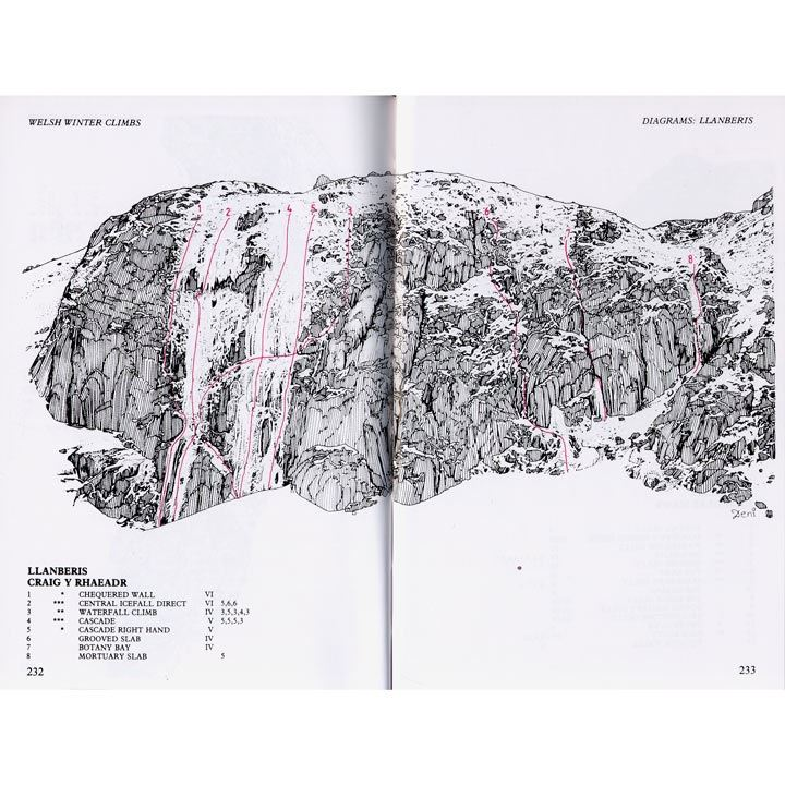 Welsh Winter Climbs pages