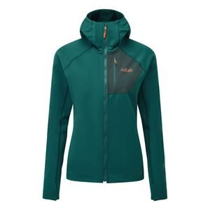 Rab Women's Superflux Hoody Atlantis/Pine