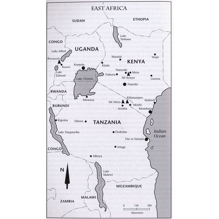 Kilimanjaro and East Africa coverage