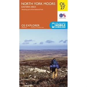 OS OL27 North York Moors - Eastern Area