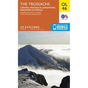 OS OL/Explorer 46 Paper - The Trossachs