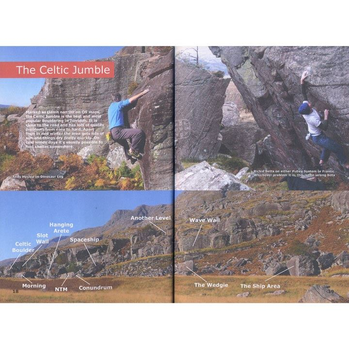 Torridon Bouldering pages