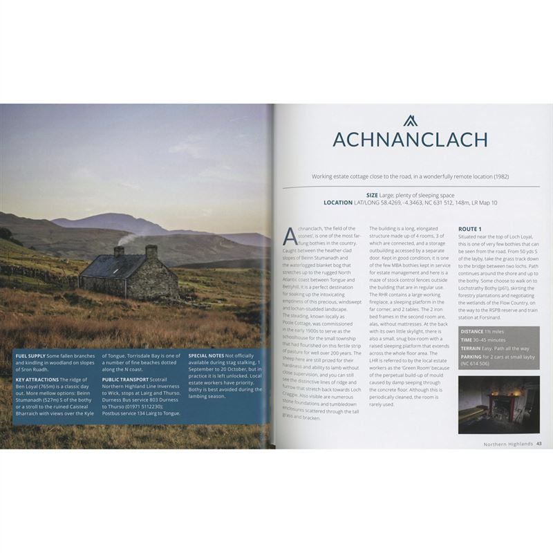 The Scottish Bothy Bible pages