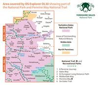 OS Explorer 30 Dales North & Central Areas coverage