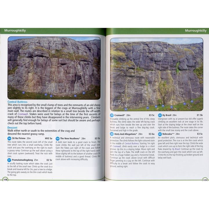 Climbs in the Burren and Aran Islands pages