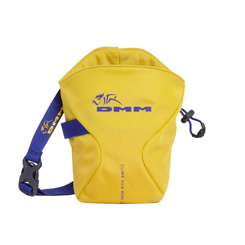 DMM Traction Chalk Bag Yellow