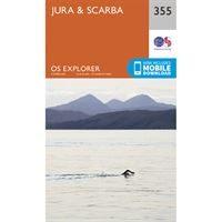 OS Explorer 355 Paper - Jura & Scarba