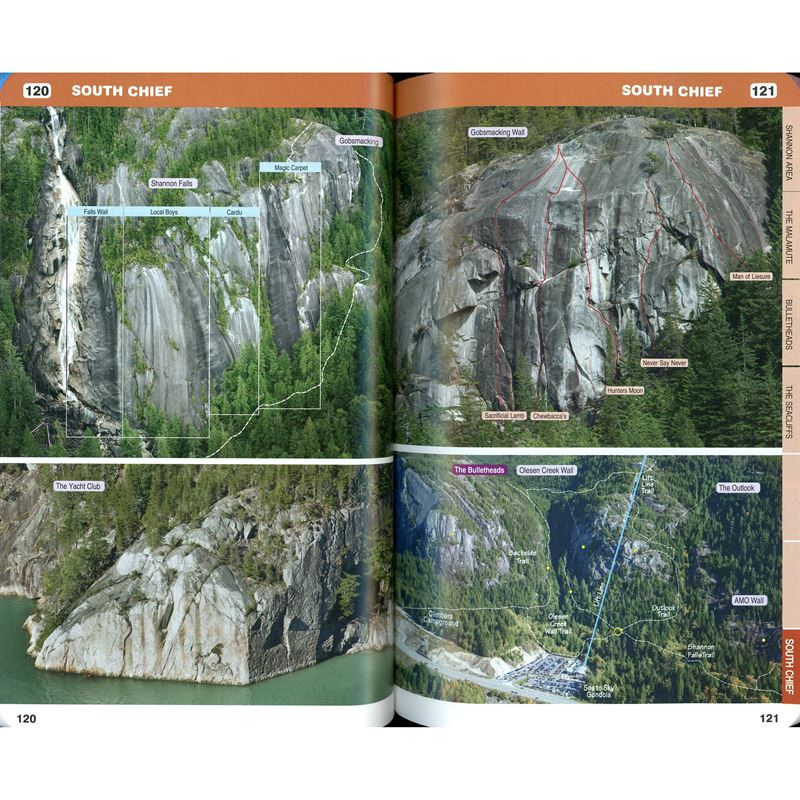 Squamish Rockclimbs pages