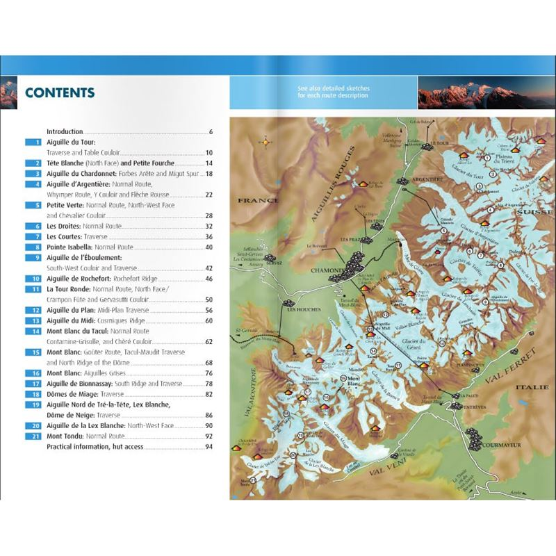 Mountaineering in the Mont Blanc Range coverage
