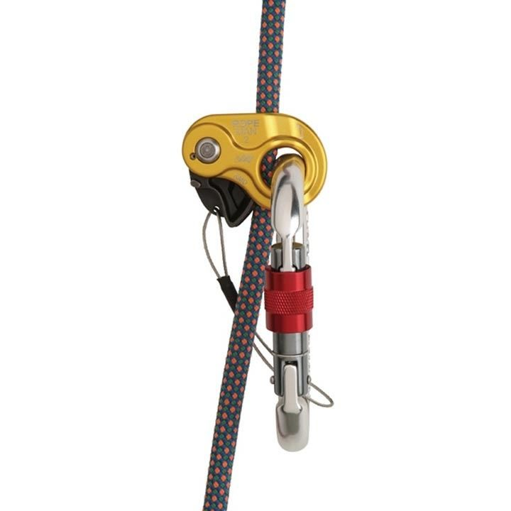Wild Country Ropeman 2 on rope