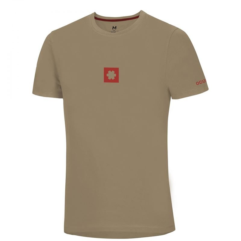Ocun Men's Logo T Irish Cream