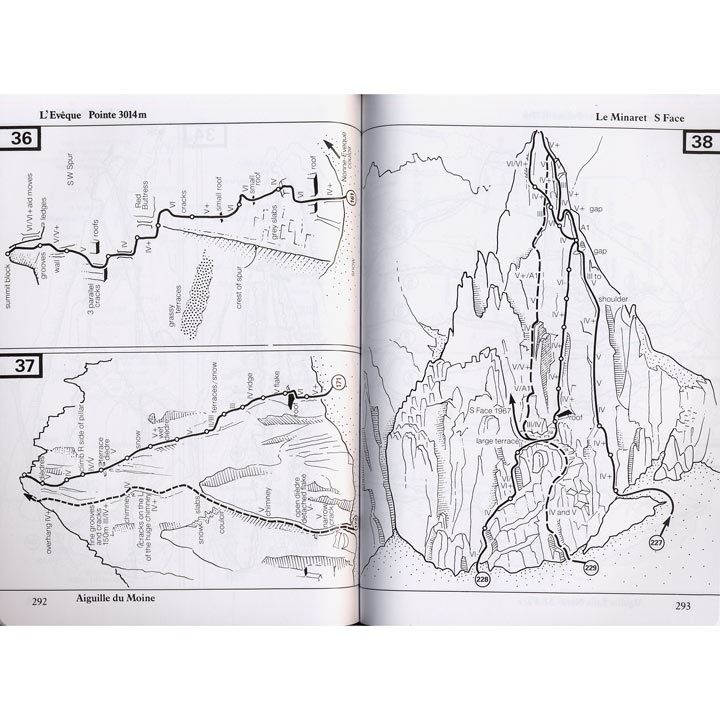 Mont Blanc Massif Volume 2 pages