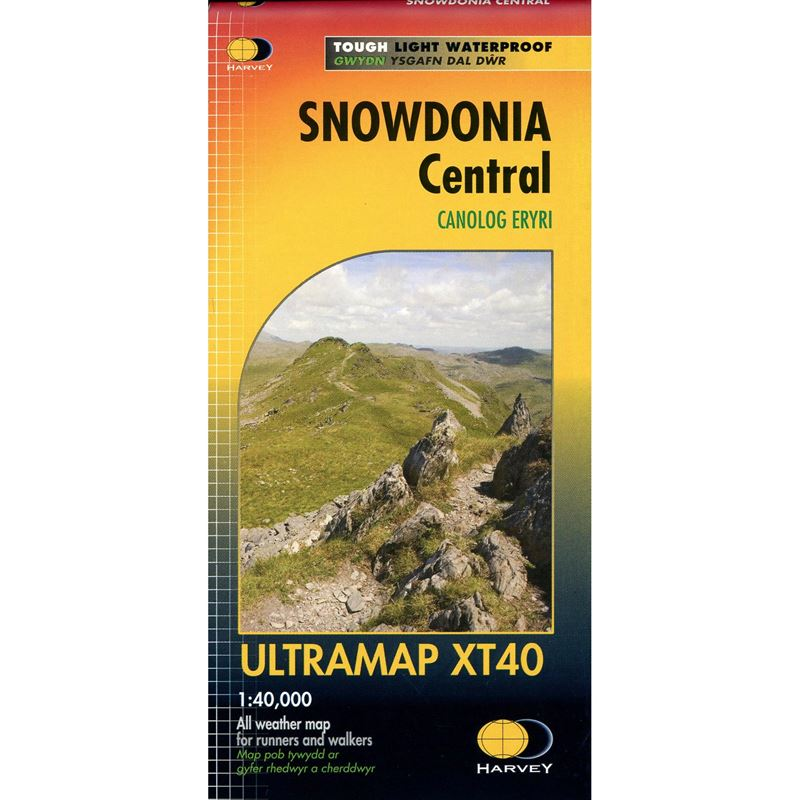 Harvey Ultramap XT40 - Snowdonia Central