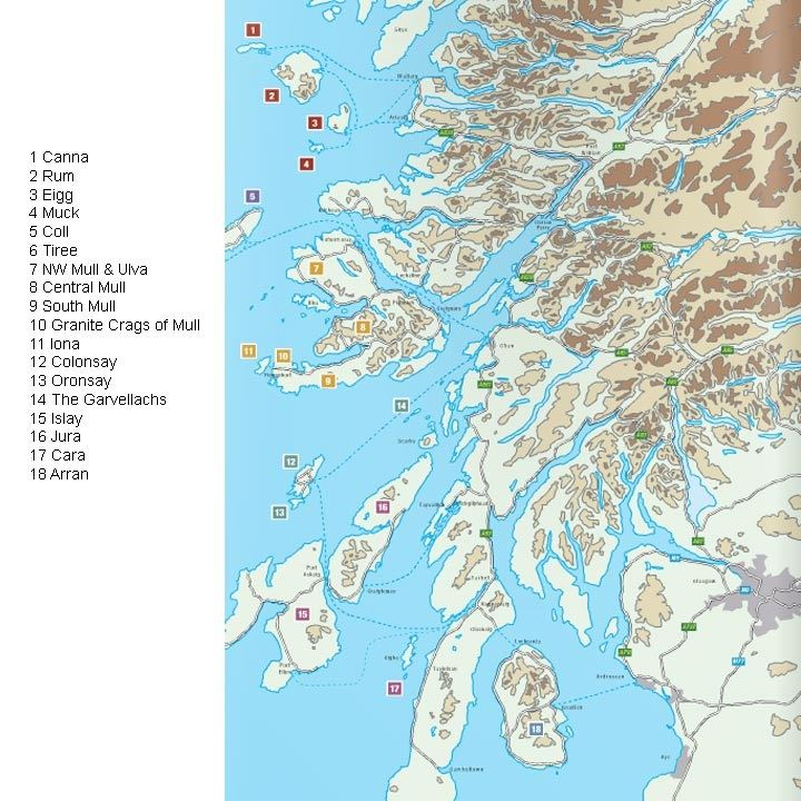Inner Hebrides and Arran coverage