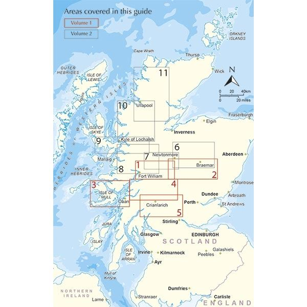 Walking the Munros Volume 1: Southern, Central and Western Highlands coverage