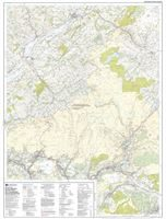 OS OL/Explorer 12 Paper - Brecon Beacons Western Area west sheet