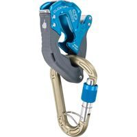 Climbing Technology Click-Up Plus Blue with Concept HMS Screwgate Karabiner