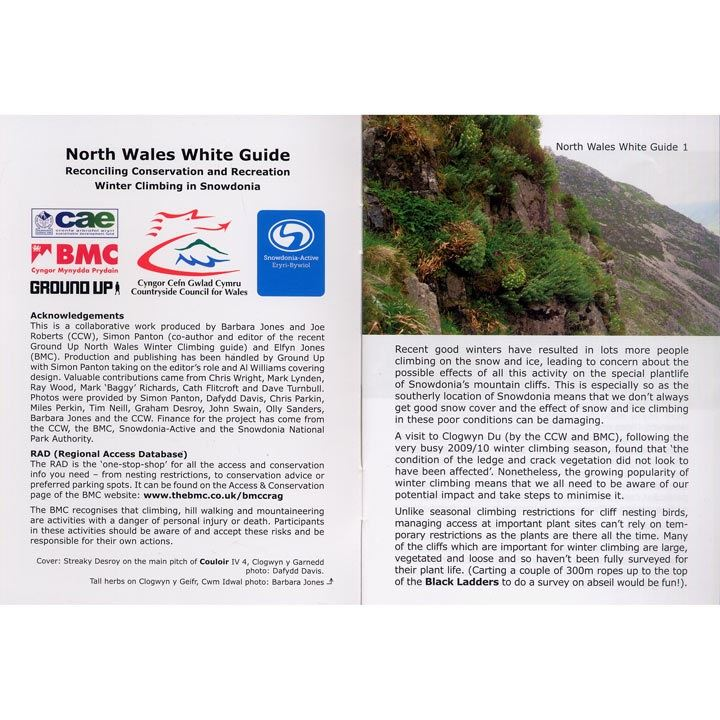 North Wales White Guide pages