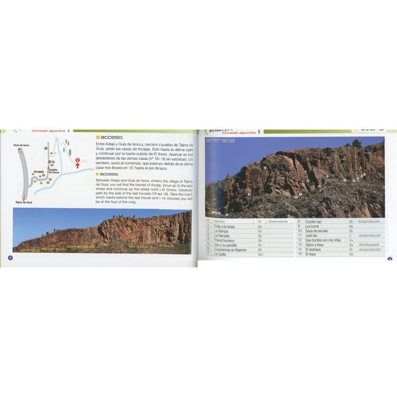 Tenerife - Sports Climbs pages