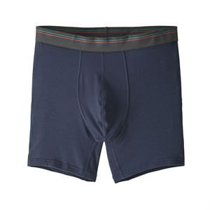 "Patagonia Men's Essential A/C Boxer Briefs 6"" New Navy"