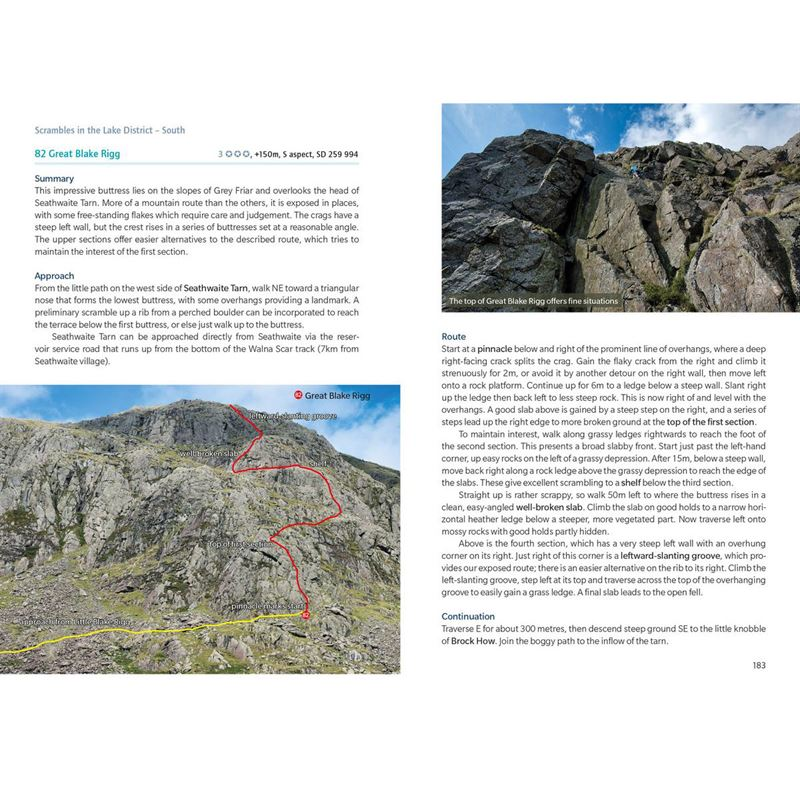 Scrambles in the Lake District - South pages