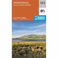 OS Explorer 322 Paper - Annandale