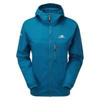 Mountain Equipment Women's Aerofoil Jacket Alto Blue