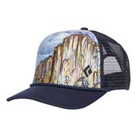 Black Diamond Flat Bill Trucker Hat El Capitan