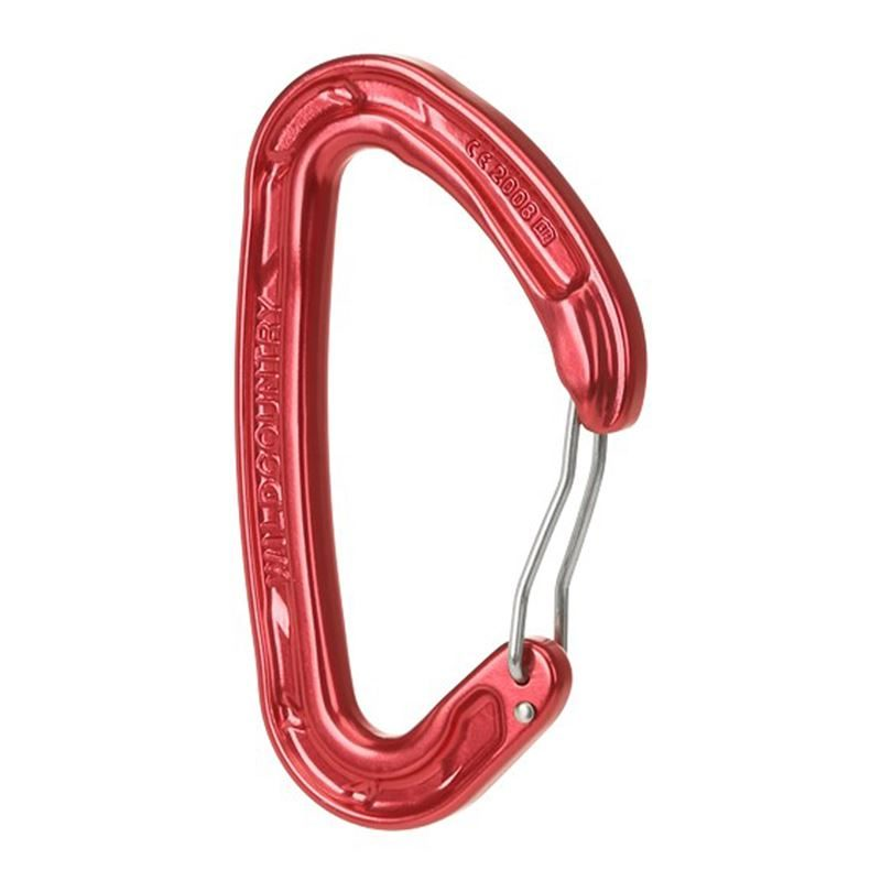 Wild Country Helium 3 Karabiner Red