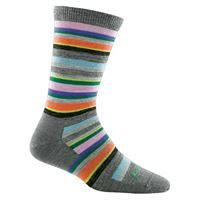 Darn Tough Women's 1642 Sassy Stripe Charcoal