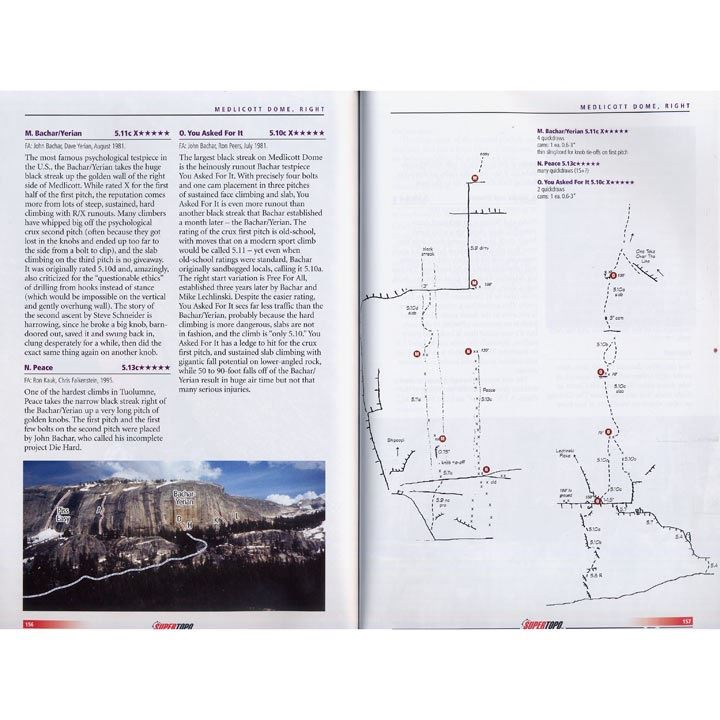 Tuolumne Free Climbs pages