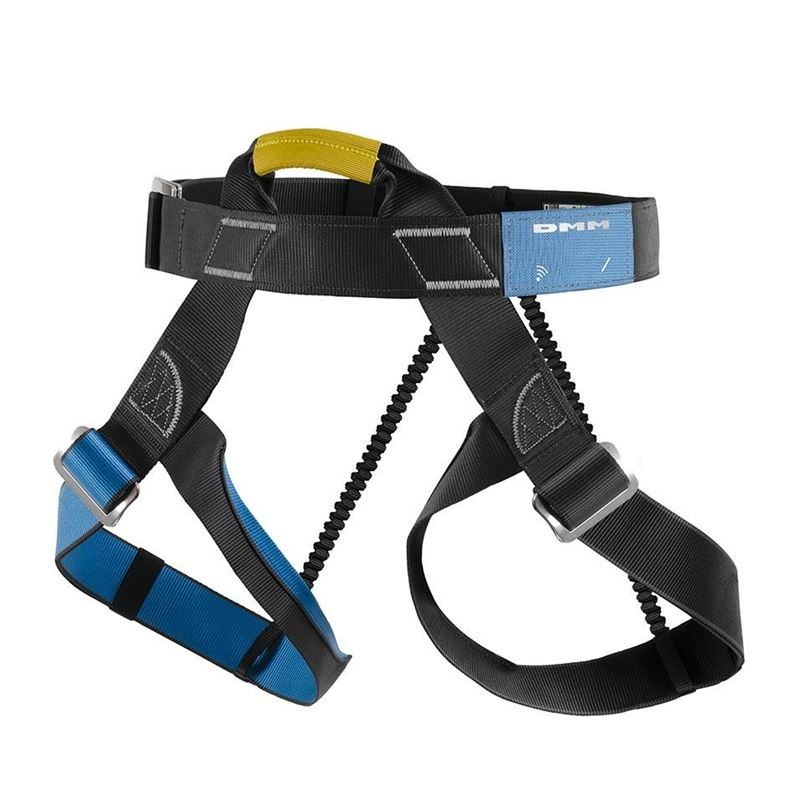 DMM Centre Alpine Harness iD Threadback Size 1