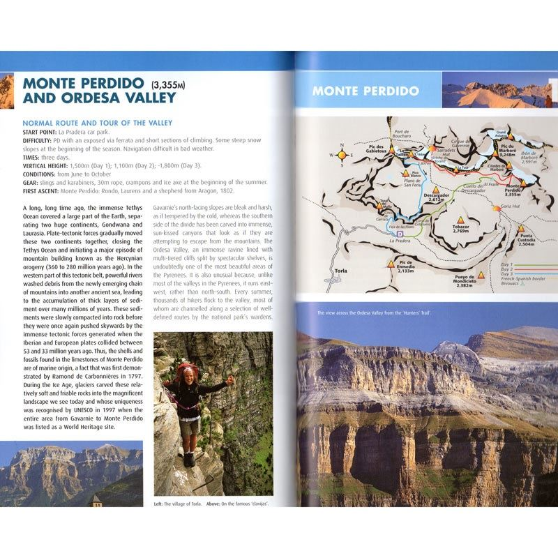Mountaineering In The Pyrenees pages