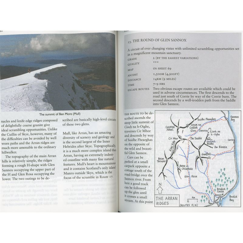 Classic Mountain Scrambles in Scotland pages