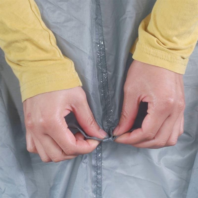 Gear Aid Seam Grip + Sil Silicone Tent Sealant in use