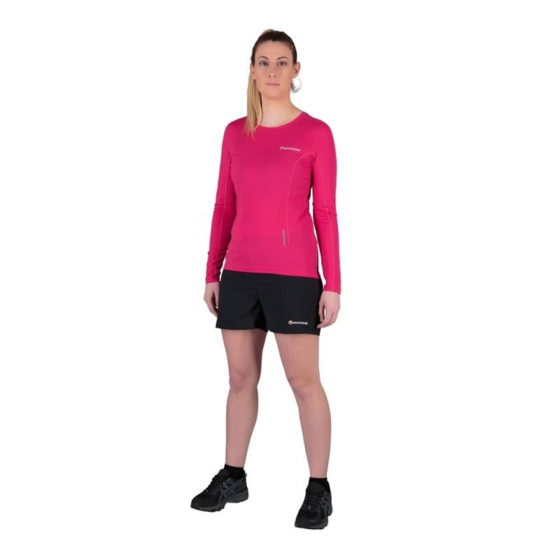Montane Women's Claw Shorts Black in use