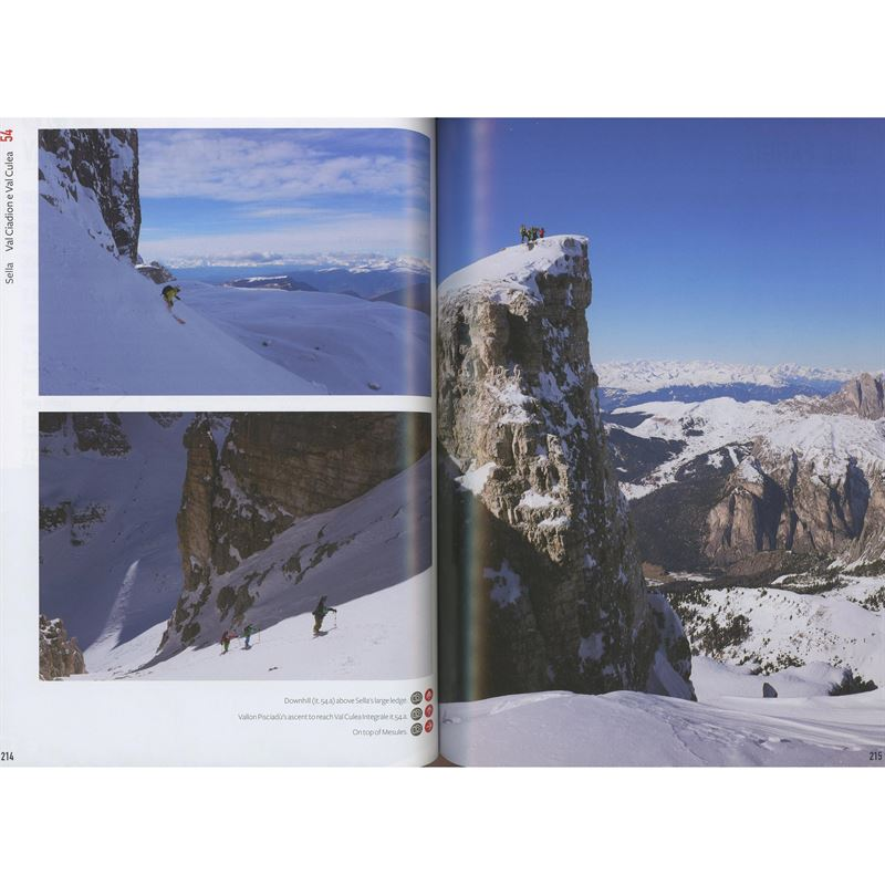 Freeriding in the Dolomites pages