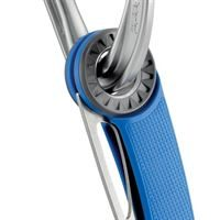 Petzl Spatha Knife being carried on a karabiner (not included)