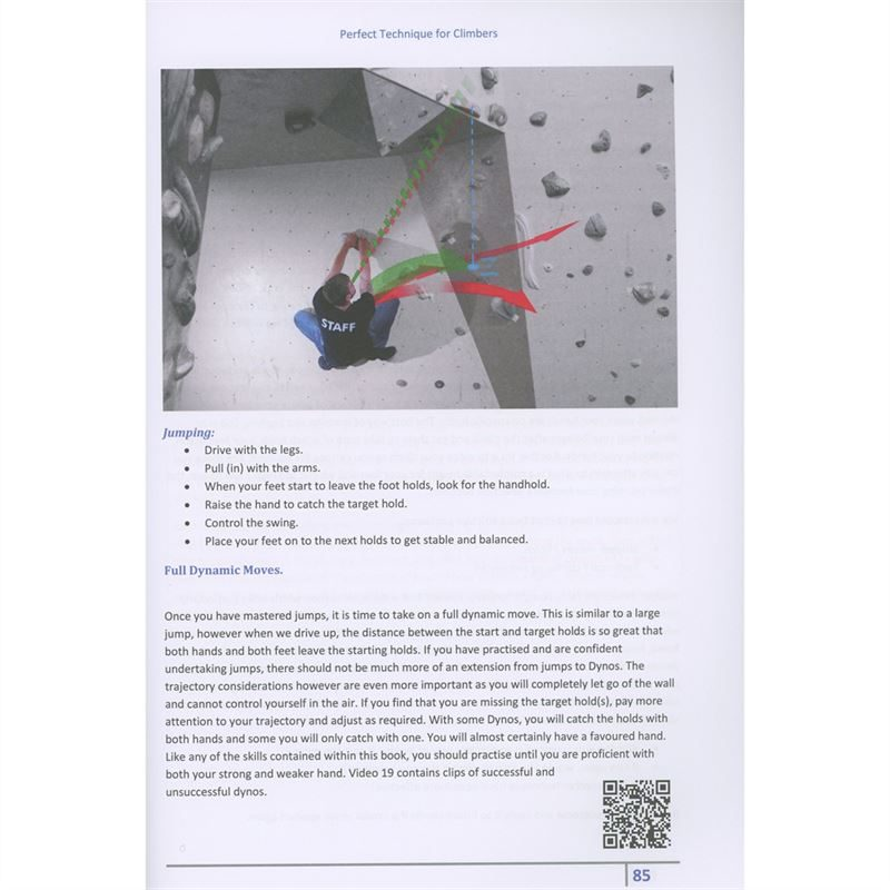 Perfect Technique for Climbers pages