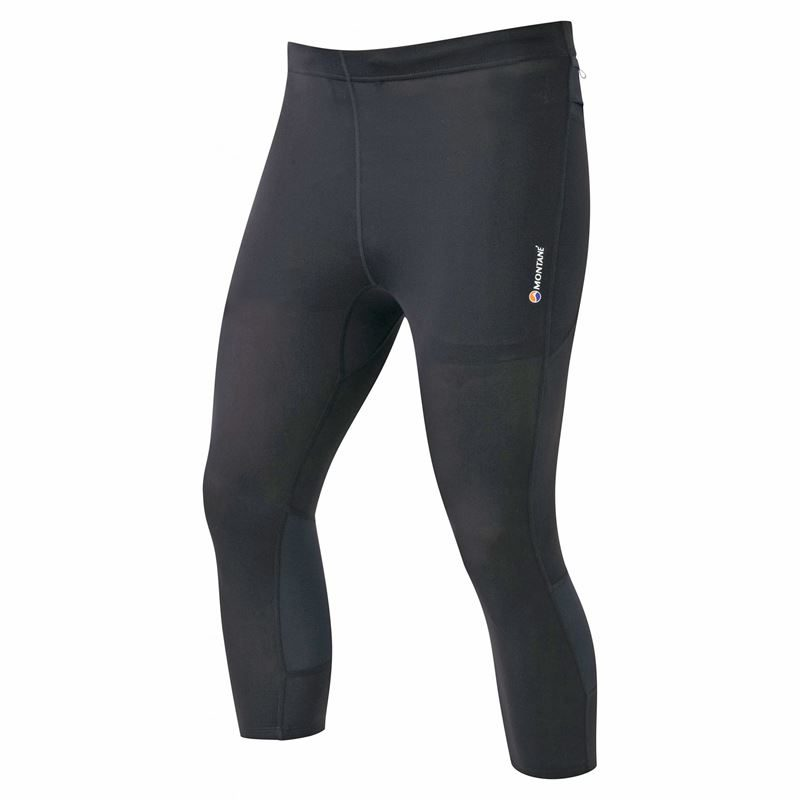 Montane Men's Threequarter Trail Tights Black