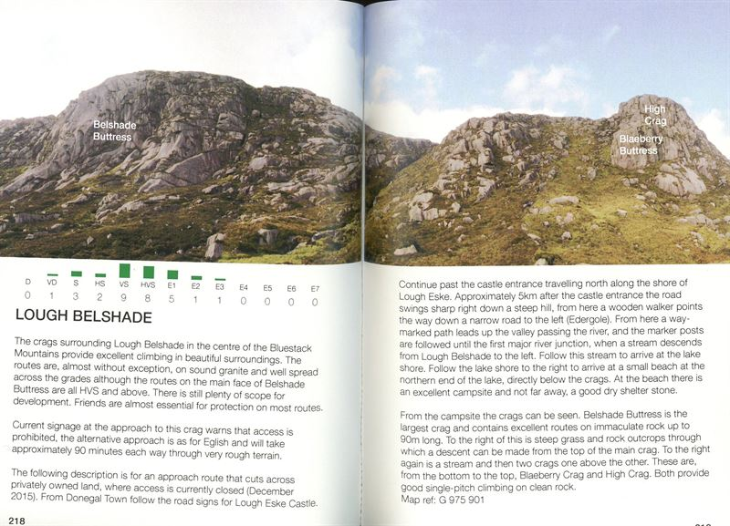 Rock Climbing in Donegal pages