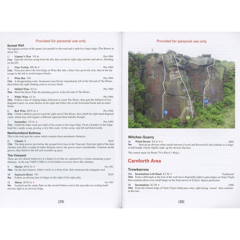Lancashire Rock Update (2019) pages